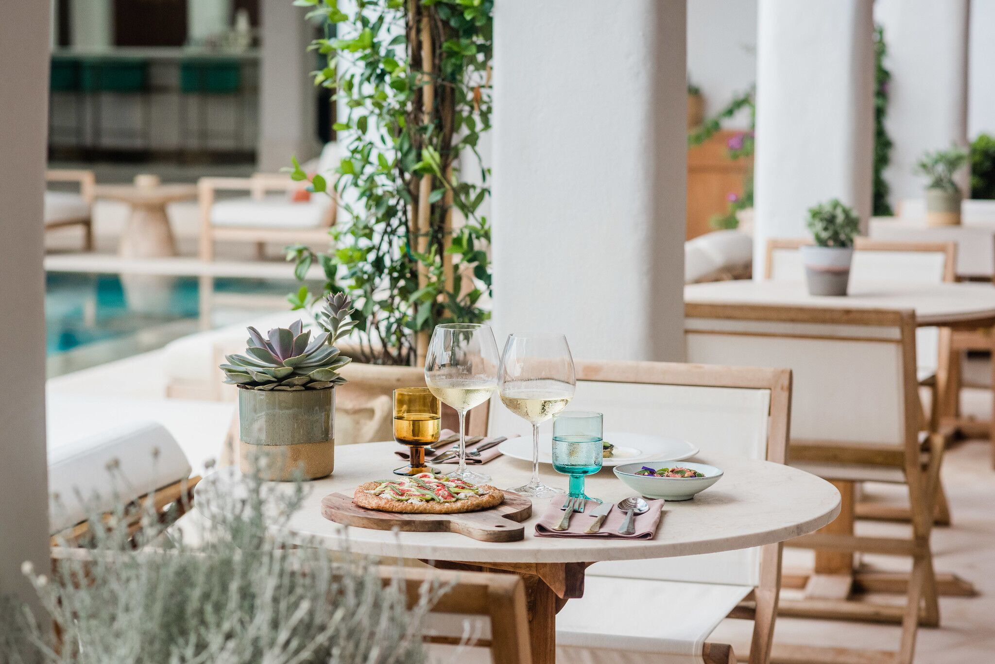 restaurant at Sabina_Sabina Ibiza